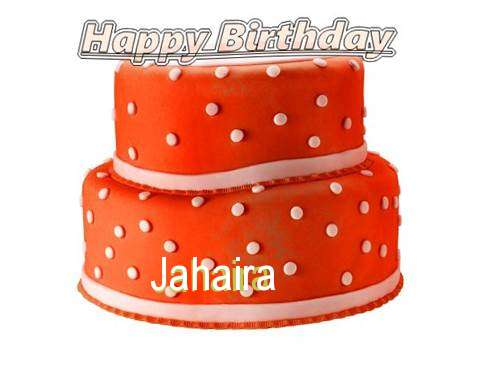 Happy Birthday Cake for Jahaira