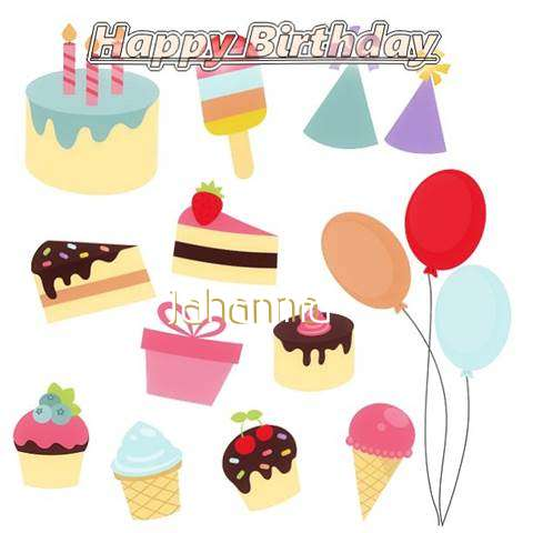 Happy Birthday Wishes for Jahanna