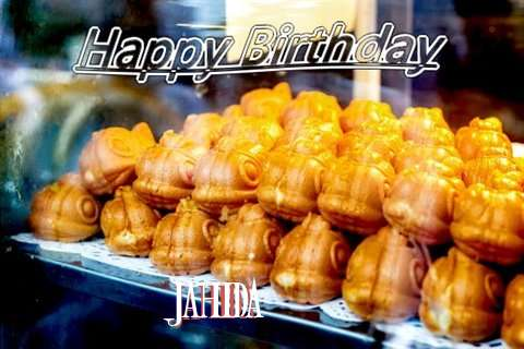 Birthday Wishes with Images of Jahida