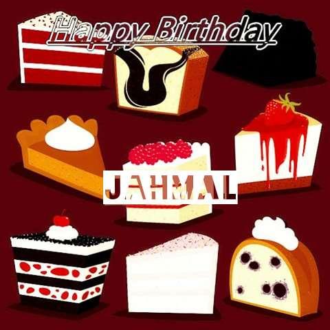Happy Birthday Cake for Jahmal
