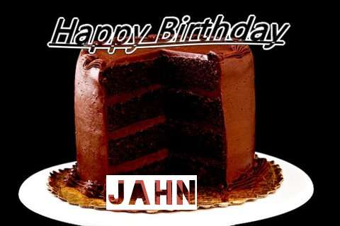 Happy Birthday Jahn Cake Image