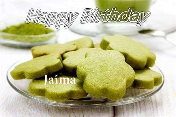 Happy Birthday Jaima