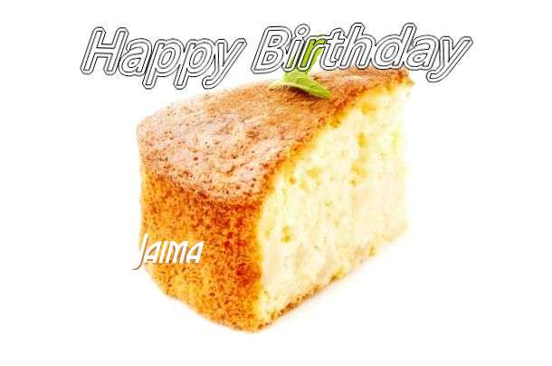 Birthday Wishes with Images of Jaima