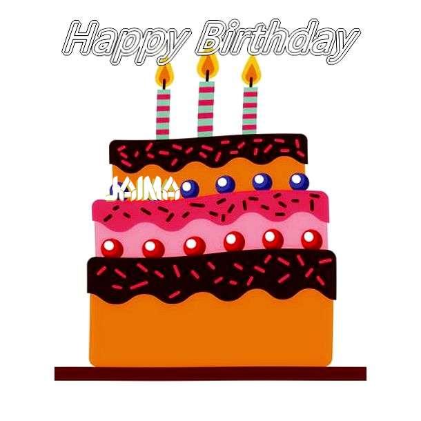 Happy Birthday Jaima Cake Image