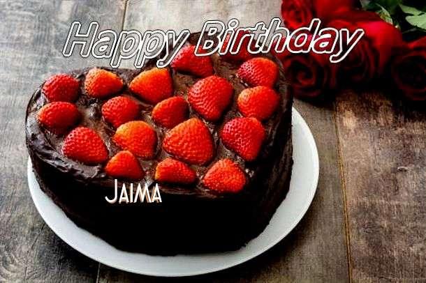 Happy Birthday Wishes for Jaima