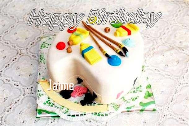 Happy Birthday Jaime