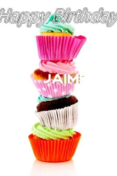 Happy Birthday to You Jaime
