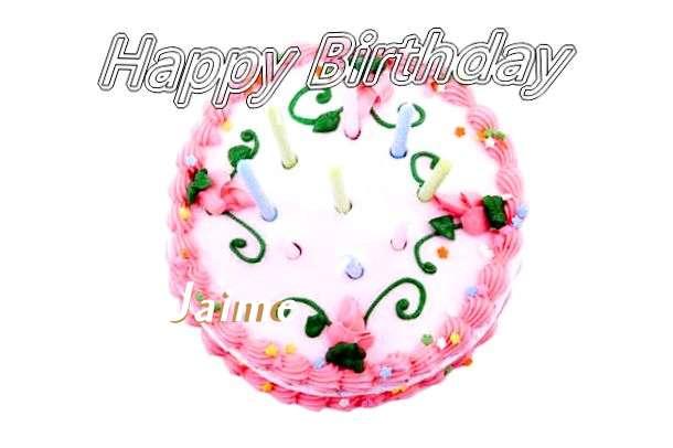 Happy Birthday Cake for Jaime