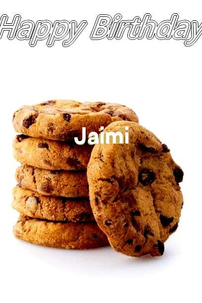 Happy Birthday Jaimi Cake Image