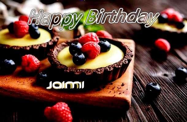 Happy Birthday to You Jaimi