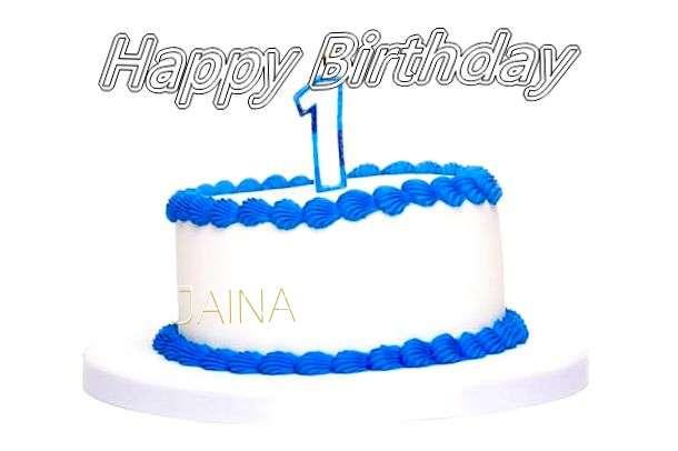Happy Birthday Cake for Jaina