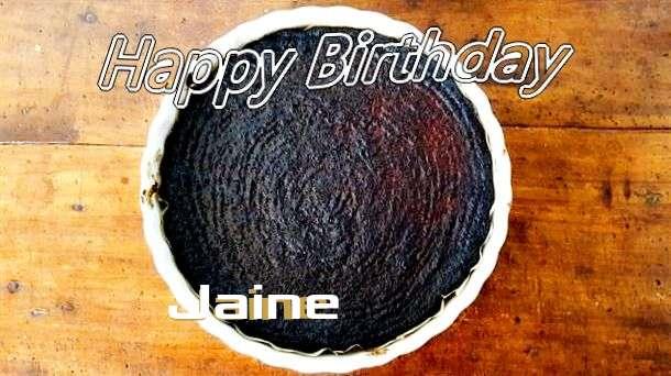Happy Birthday Wishes for Jaine