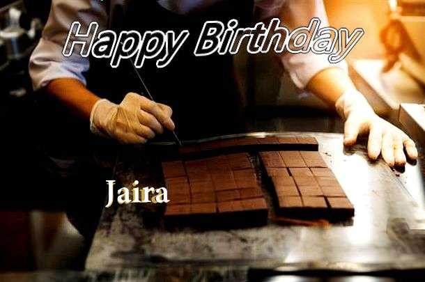 Birthday Wishes with Images of Jaira