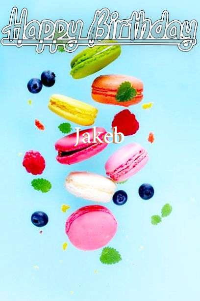 Happy Birthday Jakeb Cake Image