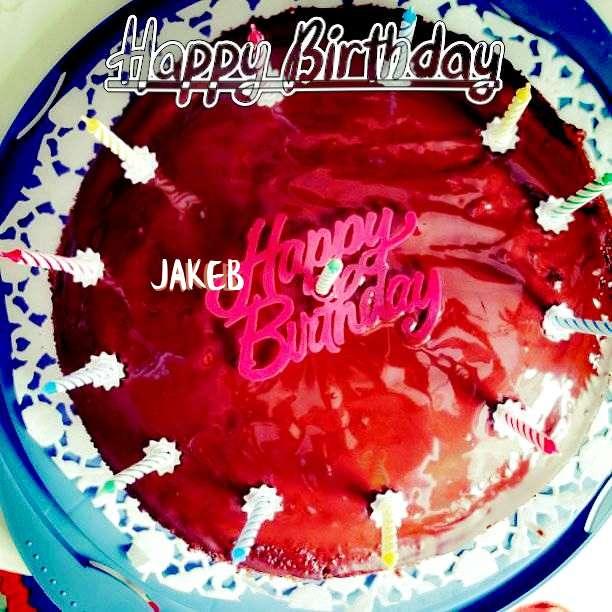 Happy Birthday Wishes for Jakeb