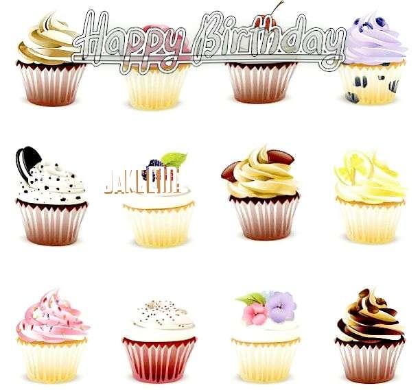 Happy Birthday Cake for Jakeline