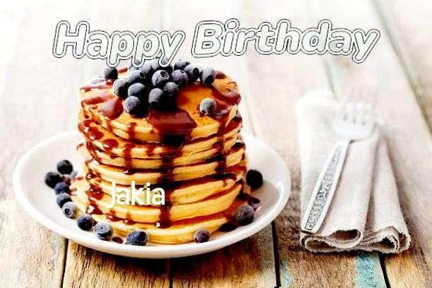 Happy Birthday Wishes for Jakia