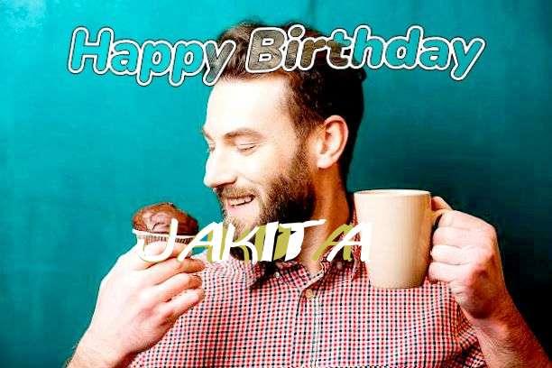 Happy Birthday Wishes for Jakita
