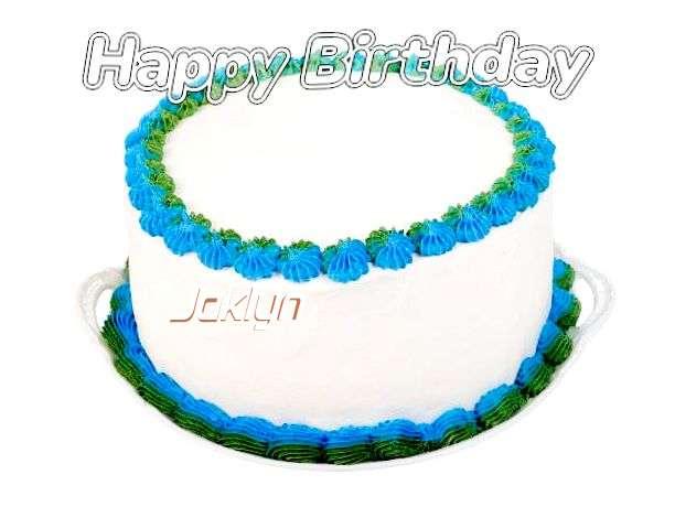 Happy Birthday Wishes for Jaklyn