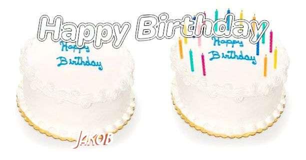 Happy Birthday Jakob Cake Image