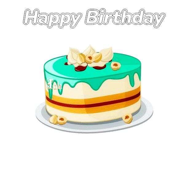 Happy Birthday Cake for Jala