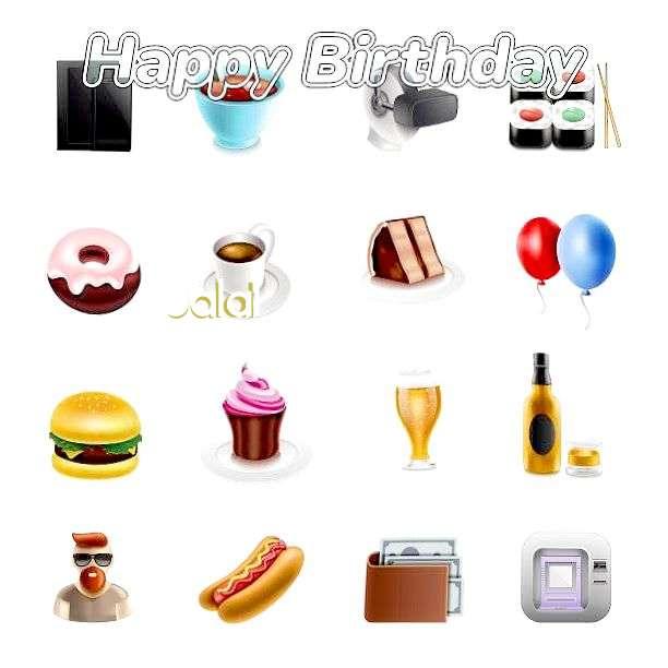 Happy Birthday Jalal Cake Image