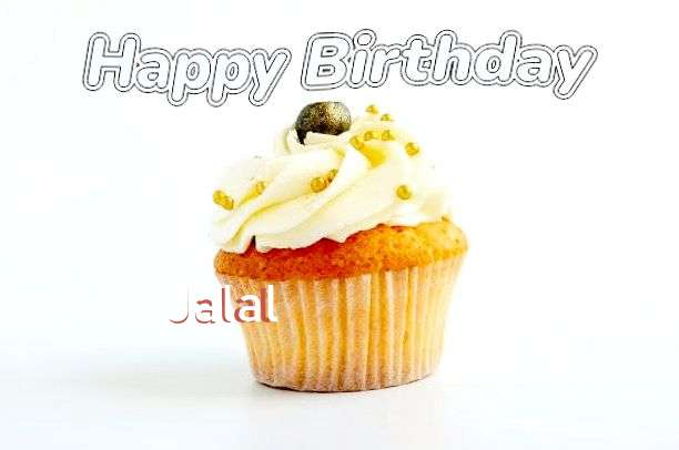 Happy Birthday Cake for Jalal