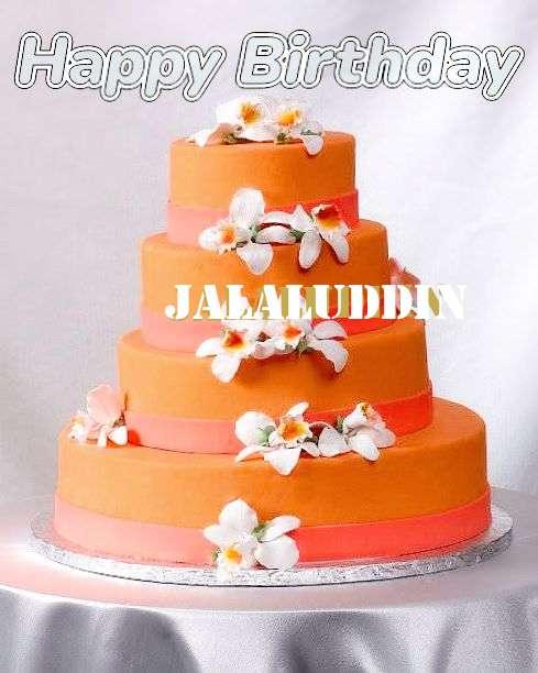 Happy Birthday Jalaluddin Cake Image