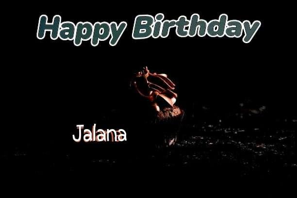 Happy Birthday Jalana Cake Image