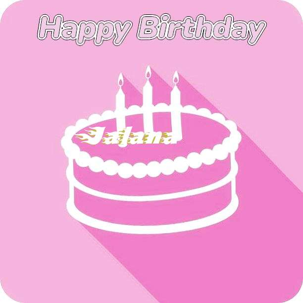 Jalana Birthday Celebration