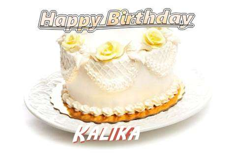 Happy Birthday Cake for Kalika