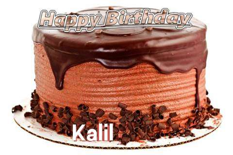 Happy Birthday Wishes for Kalil