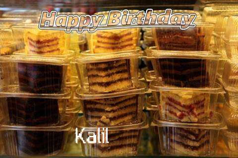 Happy Birthday to You Kalil