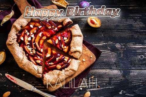Happy Birthday Kalilah Cake Image