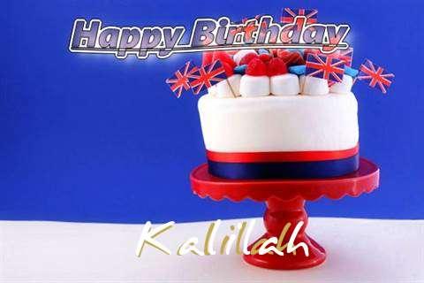 Happy Birthday to You Kalilah