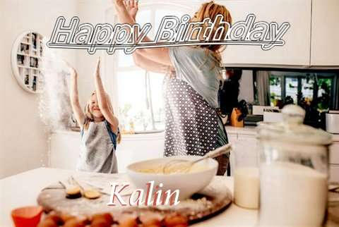 Birthday Wishes with Images of Kalin