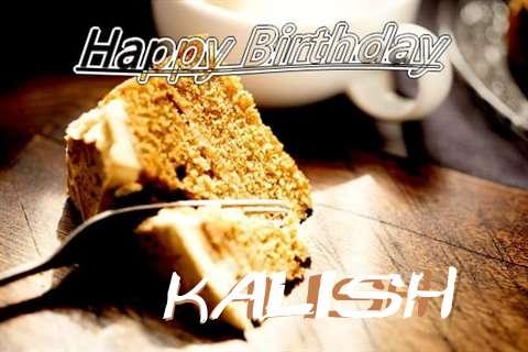Happy Birthday Kalish Cake Image