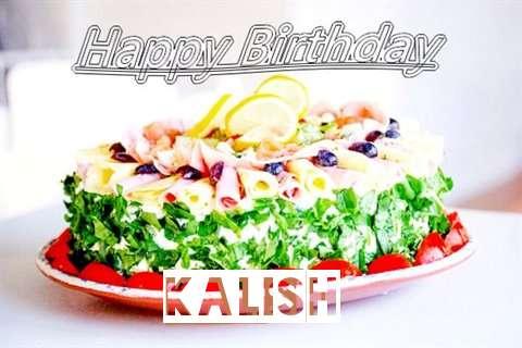 Happy Birthday Cake for Kalish