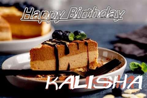 Happy Birthday Kalisha Cake Image