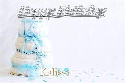 Happy Birthday Kalissa Cake Image
