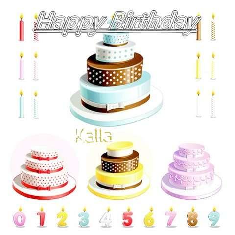 Happy Birthday Wishes for Kalla