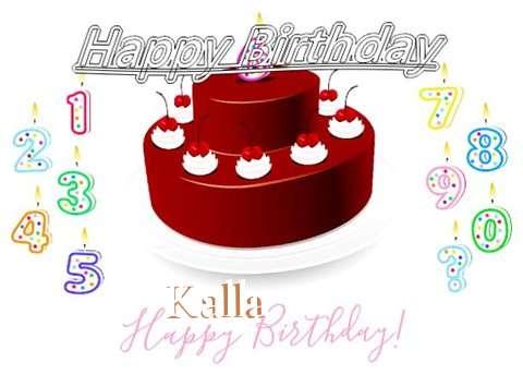 Happy Birthday to You Kalla