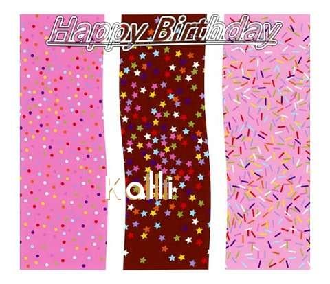 Happy Birthday Wishes for Kalli