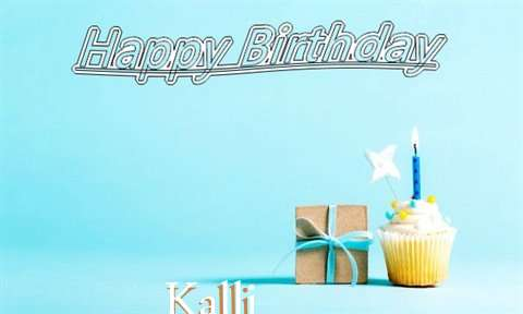 Happy Birthday Cake for Kalli