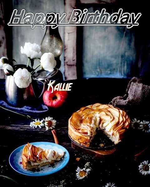 Happy Birthday Kallie Cake Image