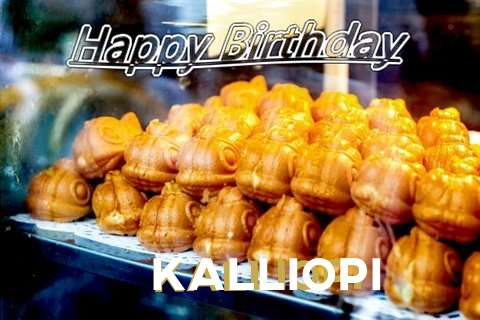 Birthday Wishes with Images of Kalliopi