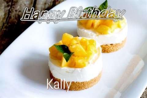 Happy Birthday to You Kally