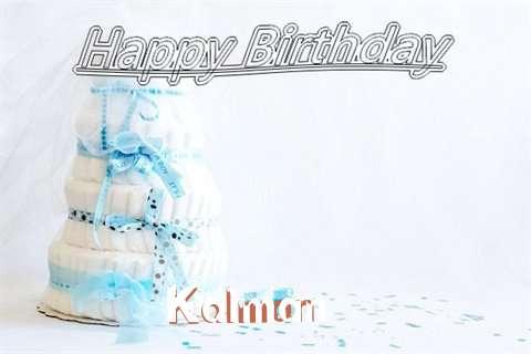 Happy Birthday Kalman Cake Image