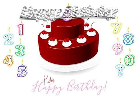 Happy Birthday to You Kalon