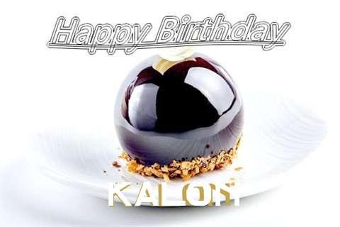 Happy Birthday Cake for Kalon